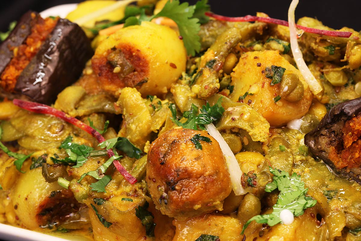 Gujarati Vegetable Curry